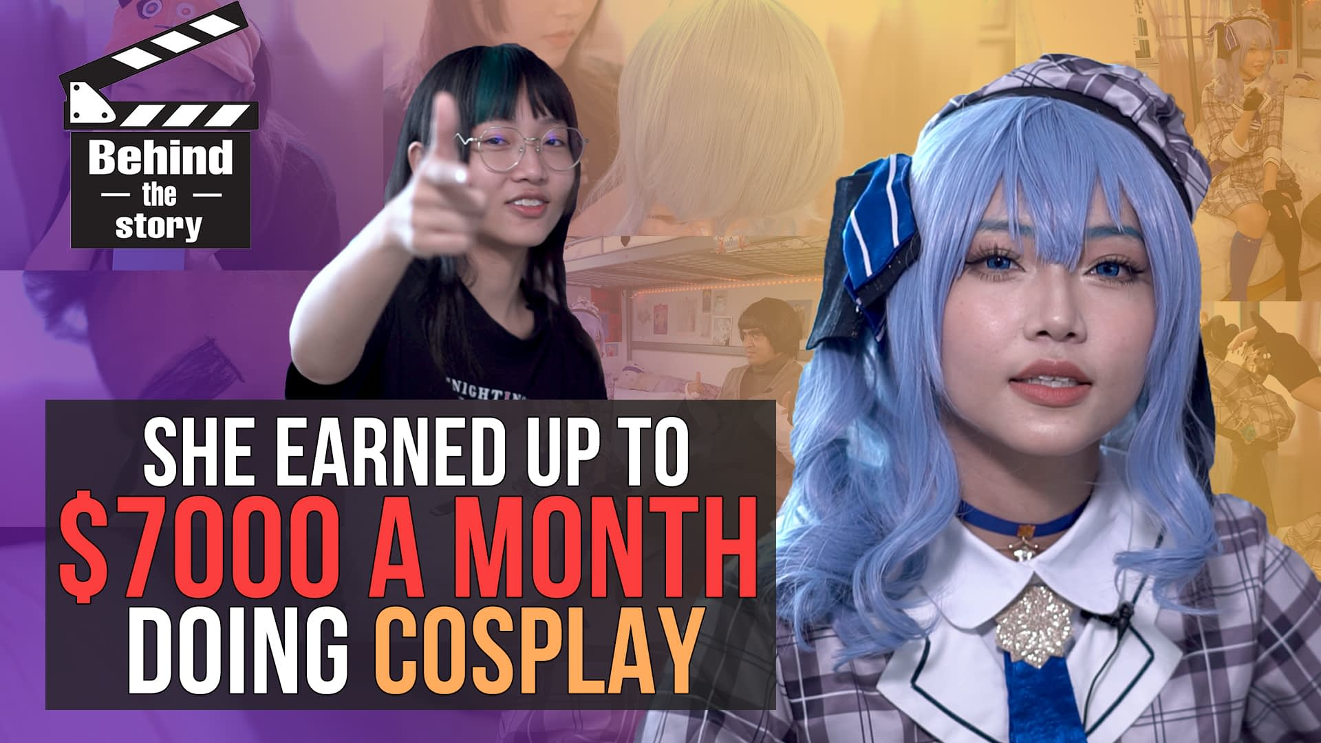She earned up to $7000 a month doing cosplay