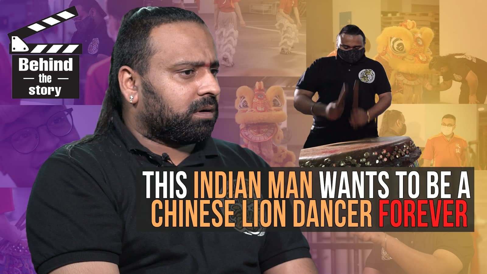 This Indian Man Wants To Be A Chinese Lion Dancer Forever