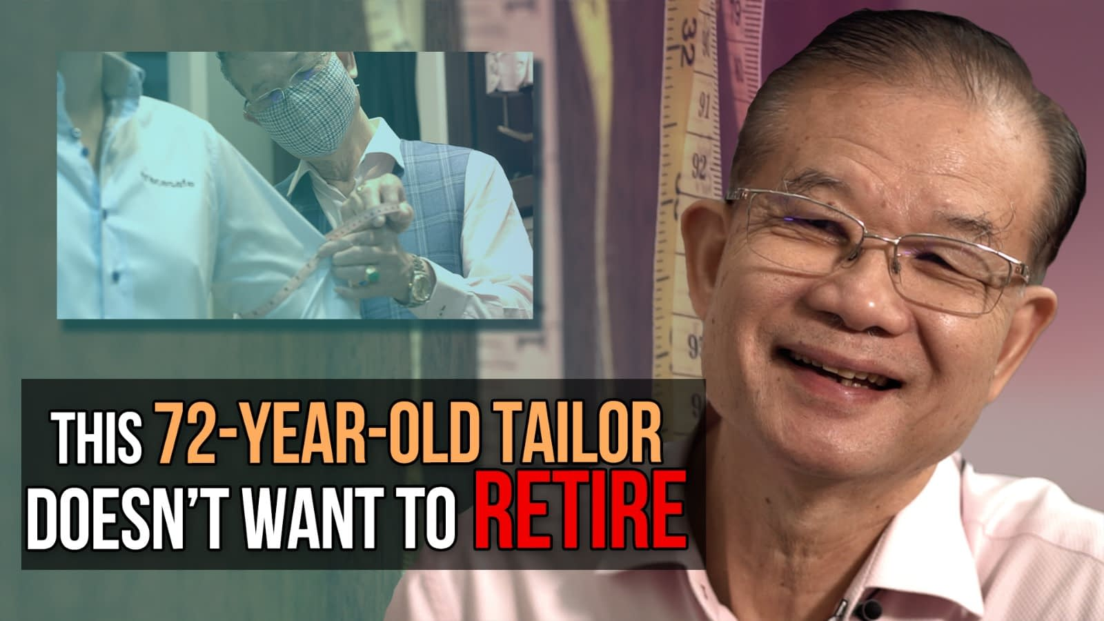 Founder of Meiko Tailor, doesn't want to retire